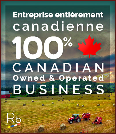 ReneBabin.com est une entreprise entièrement canadienne. ReneBabin.com is a Canadian owned and operated Business.