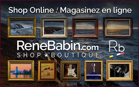 Shop online at https://shop.renebabin.com/ - Magasinez en ligne au https://shop.renebabin.com/